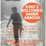 Samer Abboud's Visit to King's, March 11